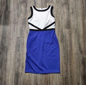 *NWT* Calvin Klein Colorblock Shift Dress